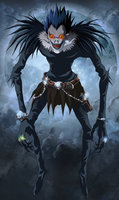 Ryuk   death note by srmoro d6j5fgs
